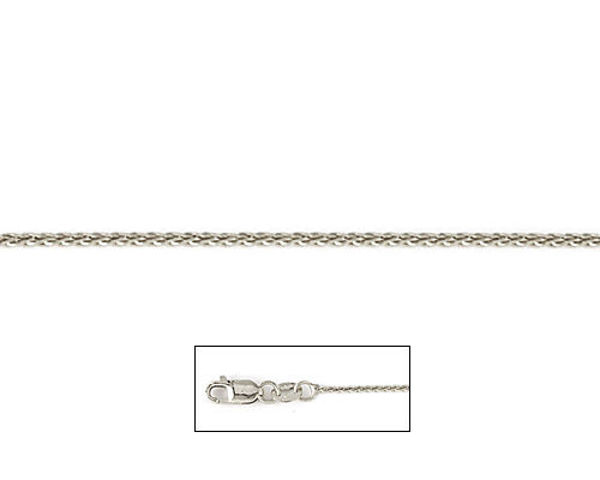 """Picture of 14KT 16"""" 1mm WHEAT CHAIN"""