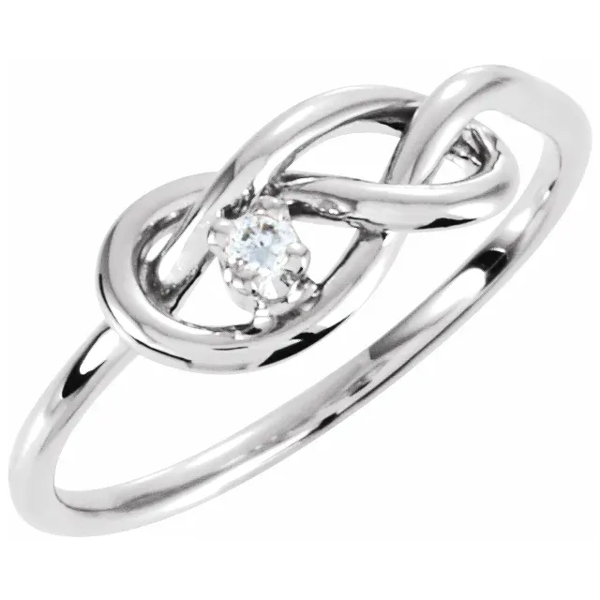 Picture of 14KT WHITE GOLD DIAMOND RING