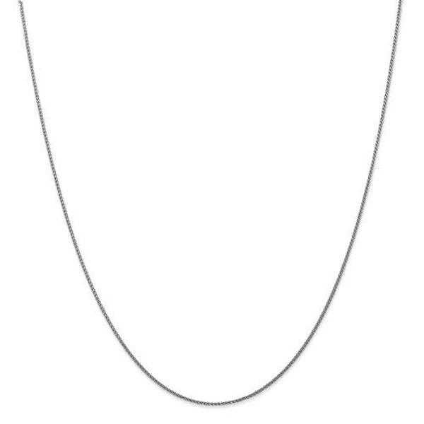 "Picture of 20"" 1mm Diamond-Cut Wheat Chain"