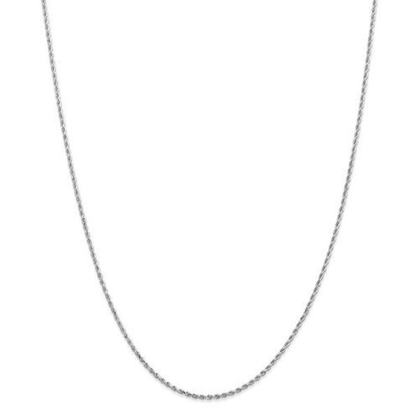 """Picture of 20"""" Diamond-Cut Rope Chain"""