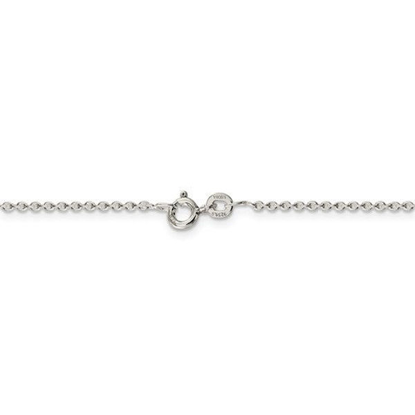 """Picture of 24"""" Sterling Silver Cable Chain"""