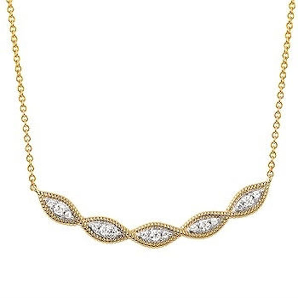 Picture of Braided Diamond Necklace