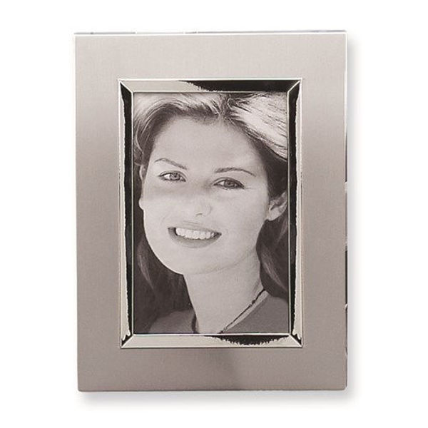 Picture of Brushed Aluminum 4x6 Photo Frame