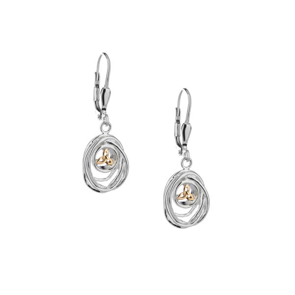 Picture of CELTIC CRADLE OF LIFE EARRINGS