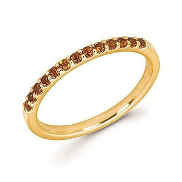 Picture of Citrine Stackable Band