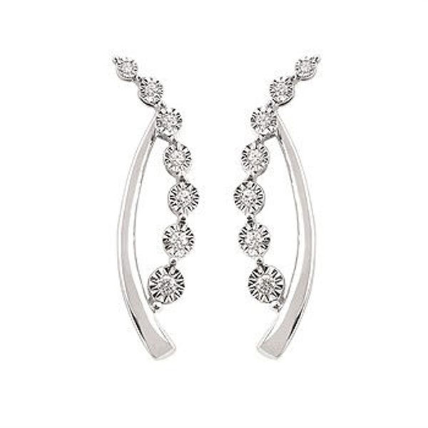 Picture of Diamond Fashionable Earrings