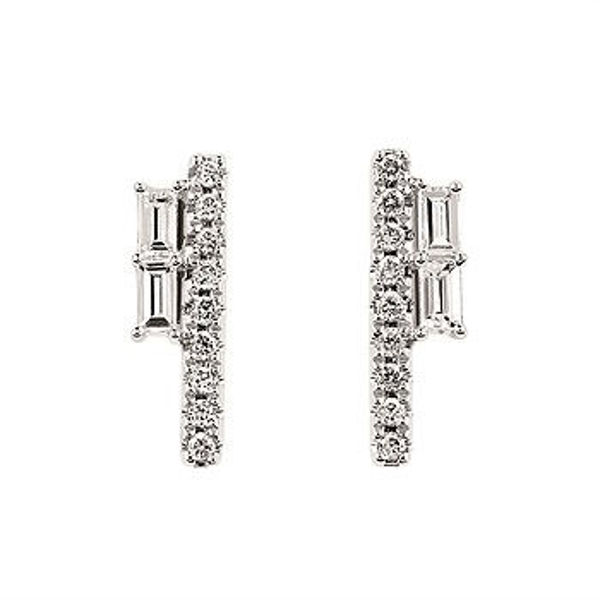 Picture of DIAMOND LINE FASHION EARRINGS