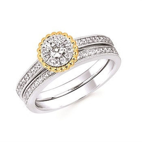Picture of Diamond Wedding Band Matches OC18A11