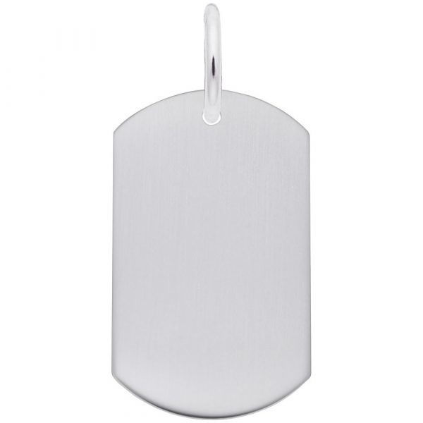 Picture of Dog Tag Charm