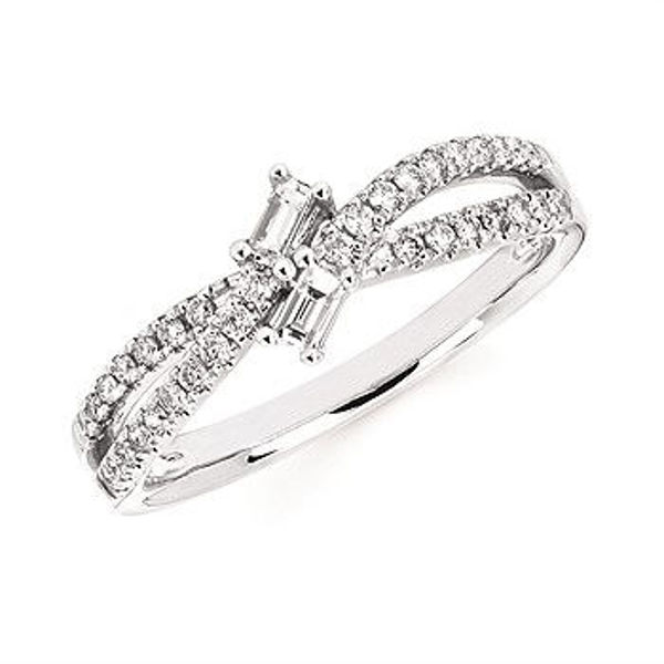 Picture of Double Baguette Diamond Fashion Ring