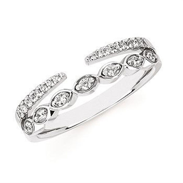 Picture of Double Row Diamond Band