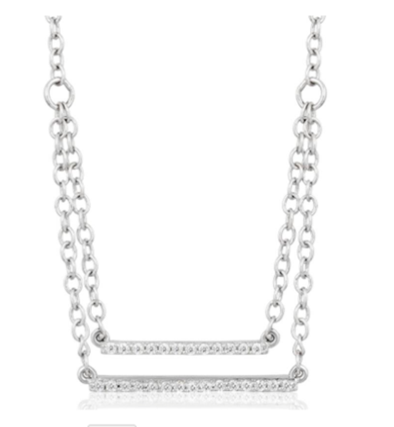 Picture of DOUBLE THE DIAMONDS NECKLACE