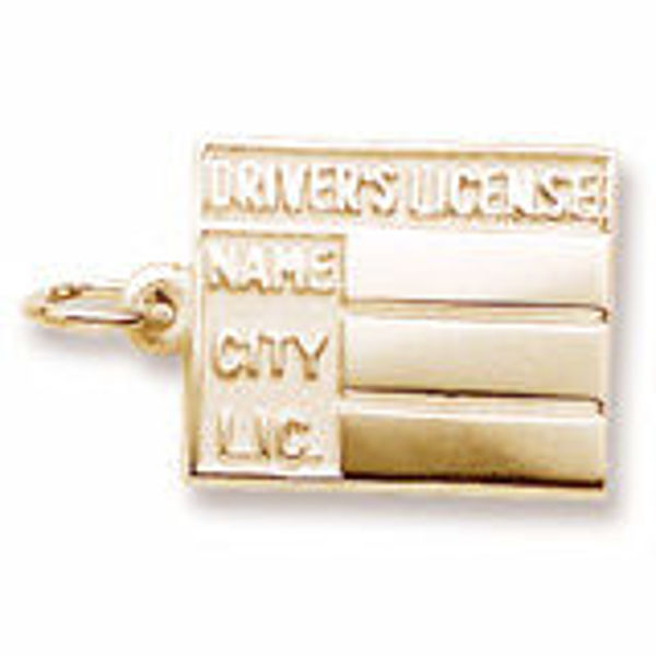 Picture of Drivers License Charm