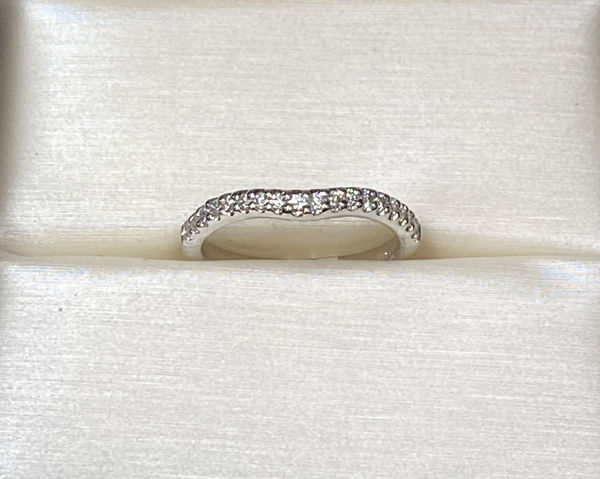 Picture of Elegance Curved Wedding Band