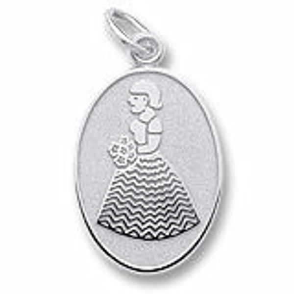 Picture of Flower Girl Charm