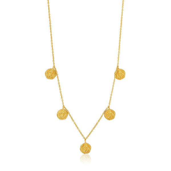 Picture of Gold Deus Necklace
