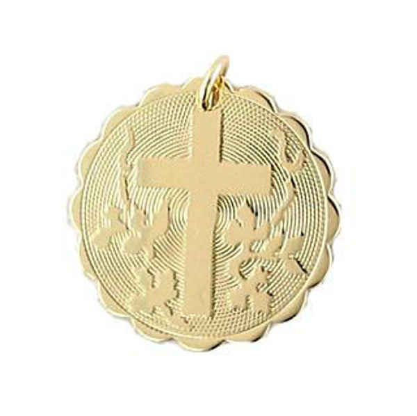 Picture of Gold Filled Cross Charm