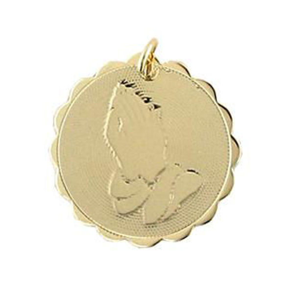 Picture of Gold Filled Praying Hands Charm