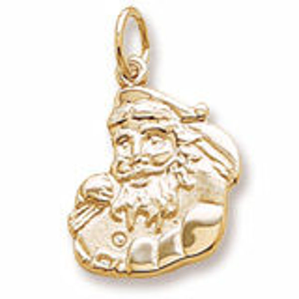Picture of GOLD PLATED CHRISTMAS SANTA
