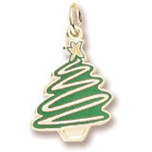 Picture of GOLLD PLATED CHRISTMAS TREE