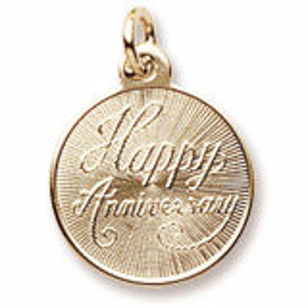 Picture of Happy Anniversary Charm