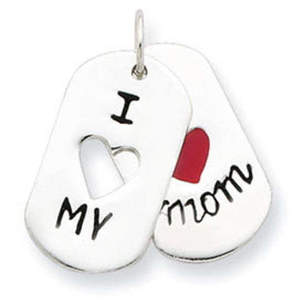 Picture of I Love My Mom Moveable Pendant
