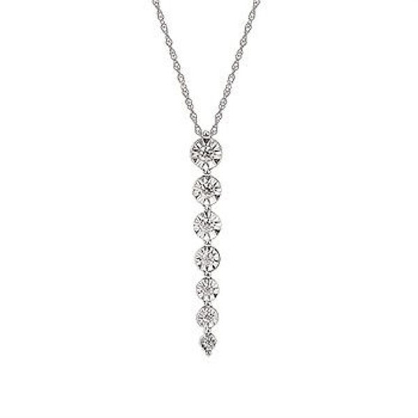 Picture of Line Diamond Pendant