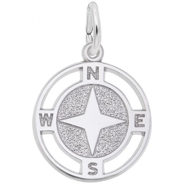 Picture of NAUTICAL COMPASS CHARM