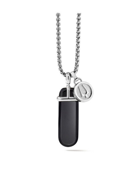 Picture of ONYX ST. STEEL NECKLACE