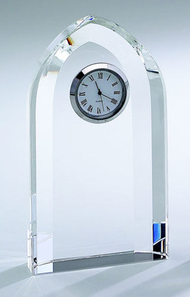 Picture of Optic Crystal Arched Clock