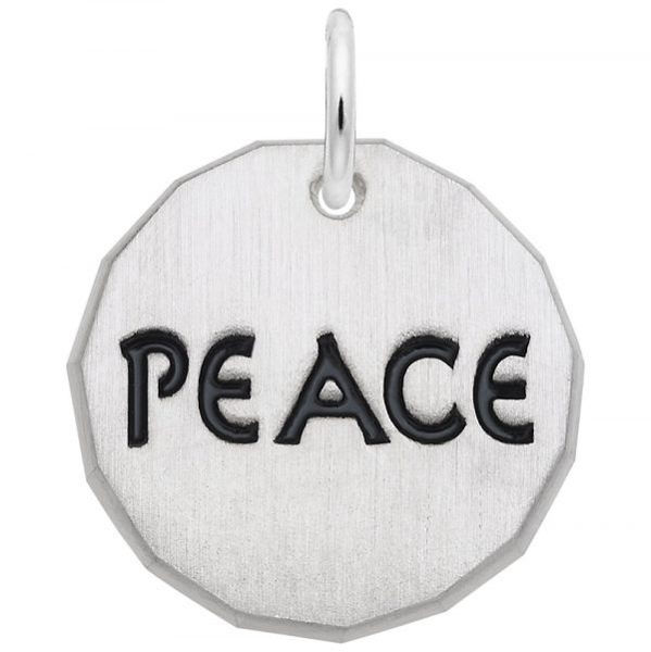 Picture of Peace Tag Charm