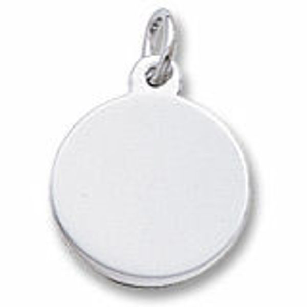 Picture of Petite Round Disc Charm