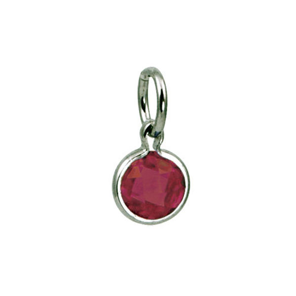 Picture of Round Coin Birthstone in July