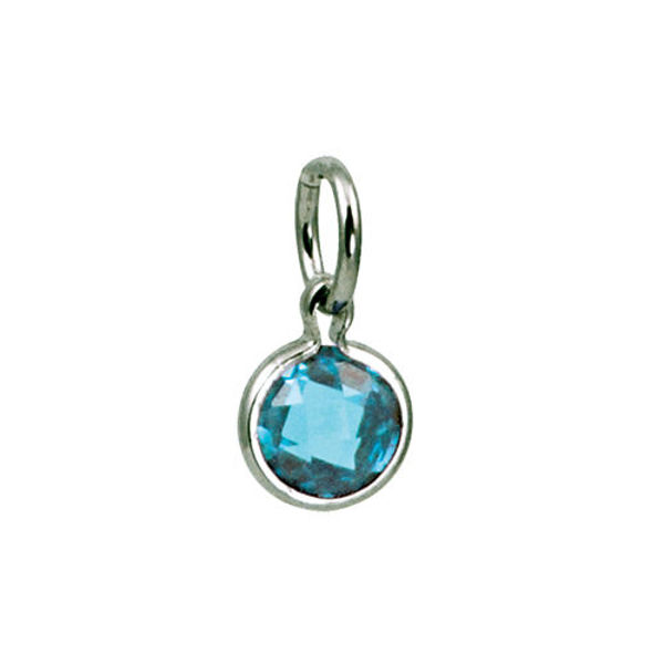 Picture of Round Coin Birthstone in March