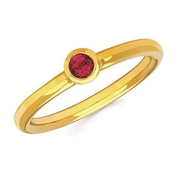 Picture of Stack Your Littles Birthstone Ring in July, For MOM