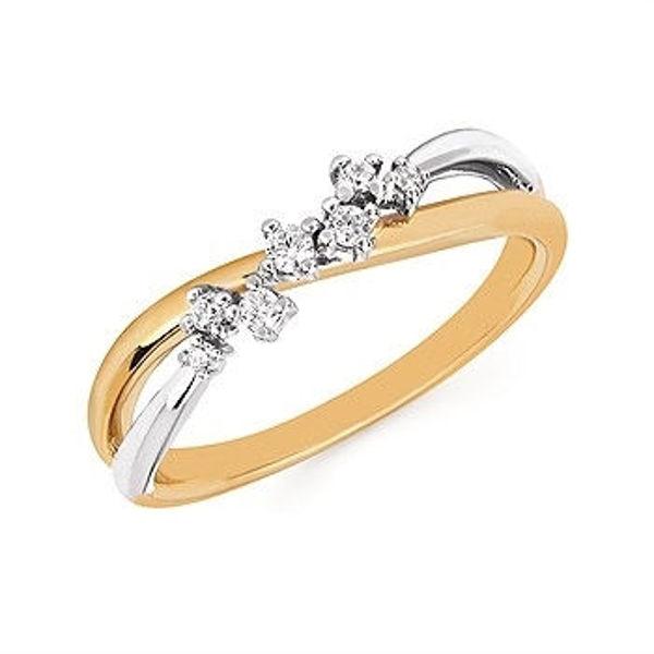 Picture of Seven Diamonds of Love Fashion Ring