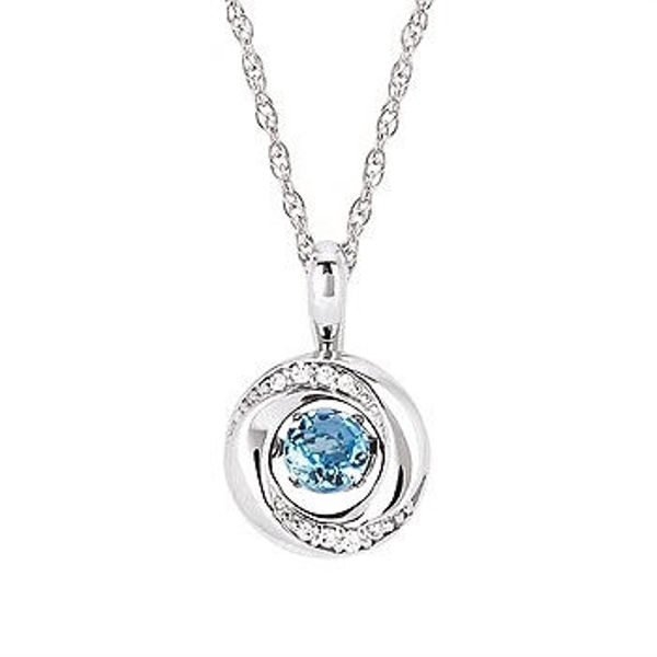 Picture of Shimmering Diamonds® Knot Pendant
