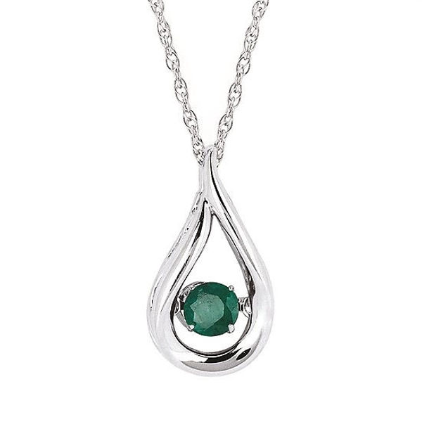 Picture of Shimmering Diamonds® Teardrop Pendant (May)