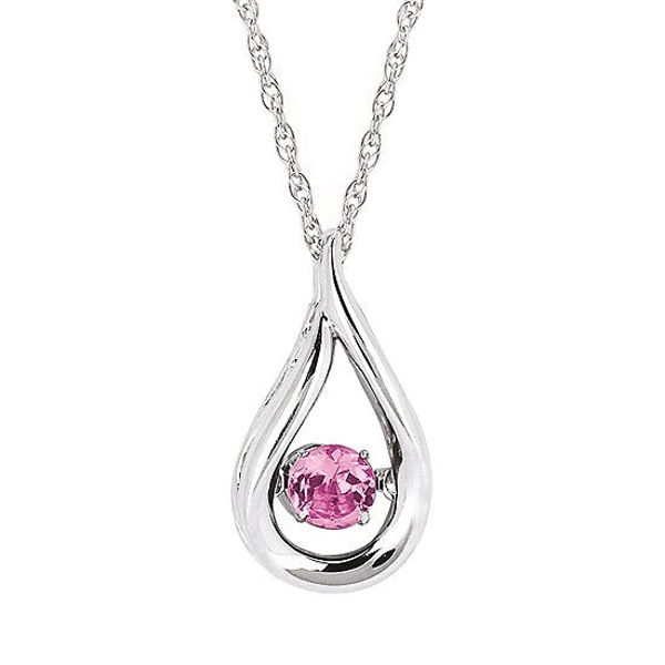 Picture of Shimmering Diamonds® Teardrop Pendant (October)