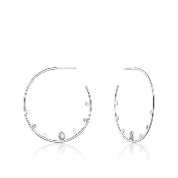 Picture of Silver Dream Open Hoop Earrings