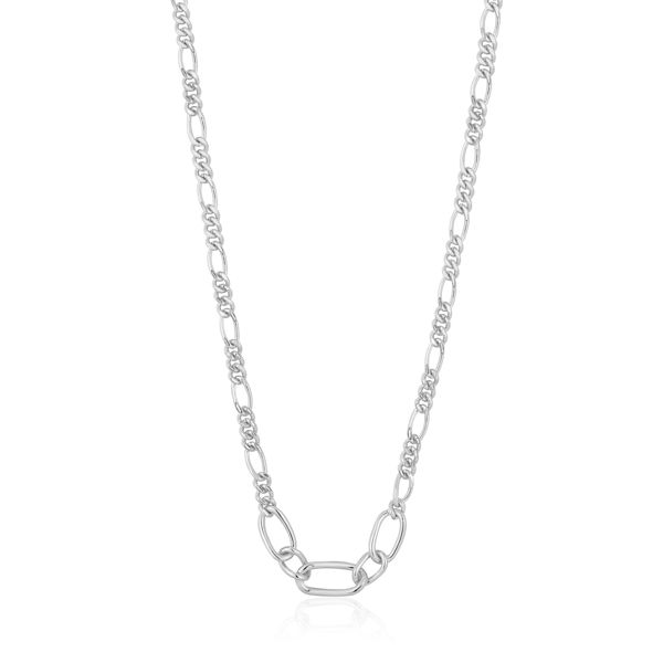 Picture of Silver Figaro Chain Necklace