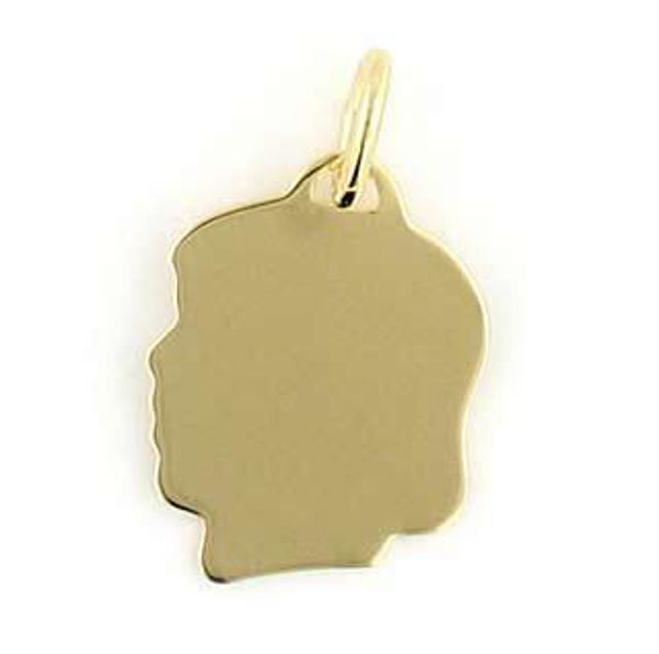 Picture of Small Girls Head Charm