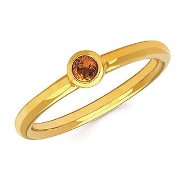 Picture of Stack Your Littles Birthstone Ring in November, For MOM