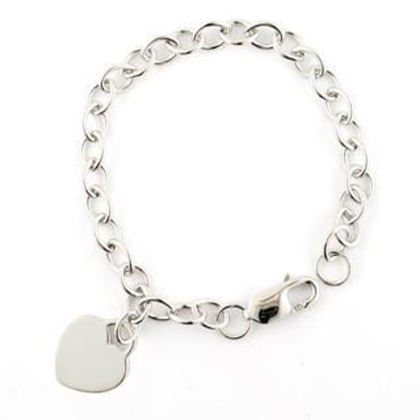 Picture of Sterling Silver Charm Bracelet