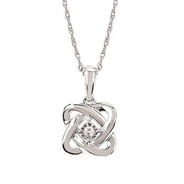 Picture of Sweethearts Center Knot Necklace