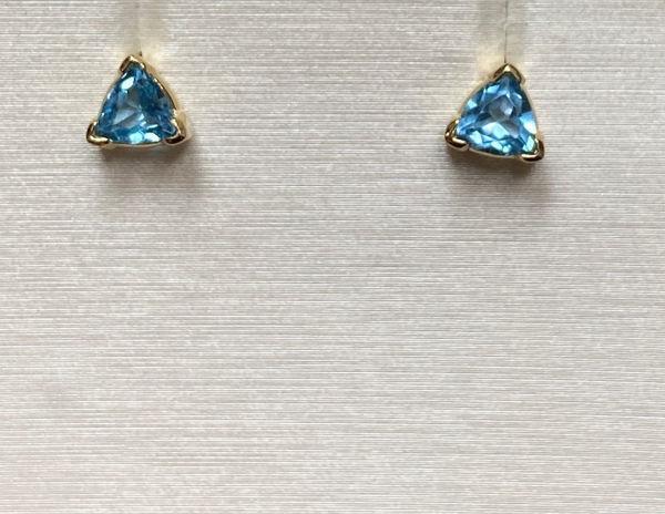 Picture of Swiss Blue Topaz Earrings