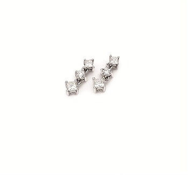 Picture of THREE DIAMOND EARRINGS