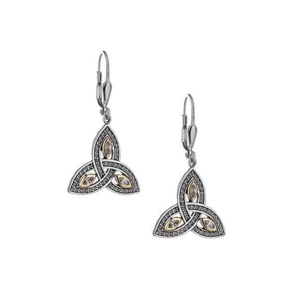 Picture of TRINITY MARQUIS EARRINGS
