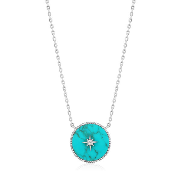 Picture of Turquoise Emblem Necklace