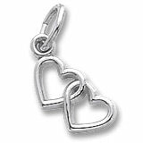 Picture of Two Hearts Charm